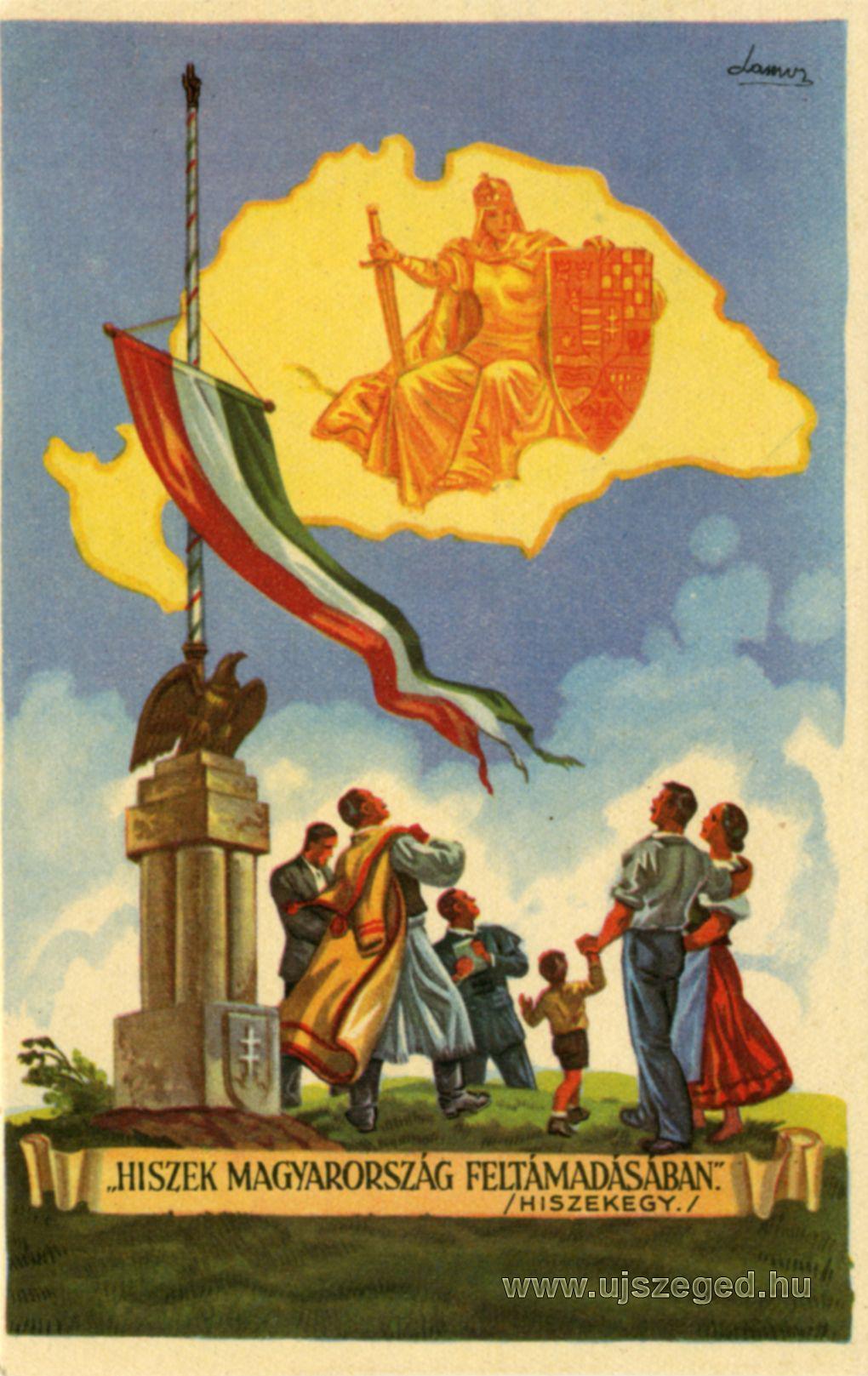 Hiszek Magyarország feltámadásában! kép