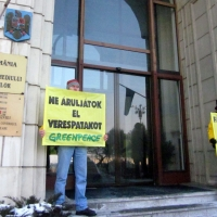 Greenpeace: cián nélküli Verespatakot