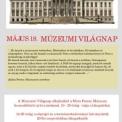 Múzeumi Világnap – ingyenes belépés május 18-án