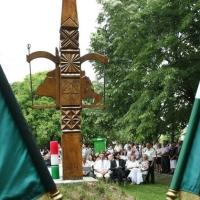 Összetartozás-napi megemlékezés az újszegedi Trianon kopjafánál