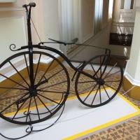 Veterán biciklik a Móra-múzeumban