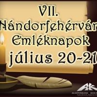 A nándorfehérvári diadal emléknapja-részletes programmal