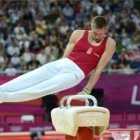 Berki Krisztián aranyérmes lólengésben
