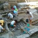Megtalálták a szegedi vár déli falának egy részét