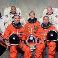 Marsha Ivins űrhajósnő előadása Szegeden