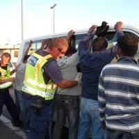 Harminchét határsértőt fogtak el Csongrád megyében