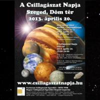 A Csillagászat Napja Szegeden – 2013. április 20.