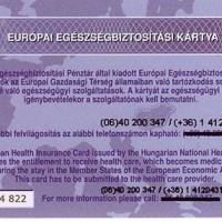 Európai egészségbiztosítási kártyát ajánl az OEP
