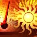 Hétfő déltől hőségriadó