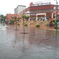 Hatalmas eső Szegeden