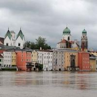 Ötszáz éves csúcson a Duna vízállása Passaunál