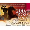 200 éves Rózsa Sándor