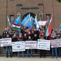 Szolidaritási megmozdulásokat tartottak Európában és Észak-Amerikában is