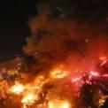 Tüntetők és rendőrök összecsapása Kijevben a Függetlenség terén