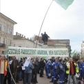 Munkakörülményeik javításáért tüntettek EDF Démász-dolgozók