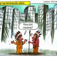 Illegális bevándorlás – Jó vicc, bár nem vicc!