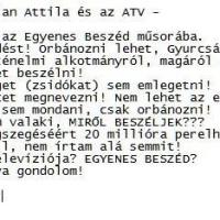 ATV – EGYENES BESZÉD ?!
