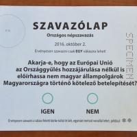 A népszavazásról józanul