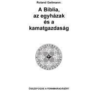 Biblia, egyház és kamat