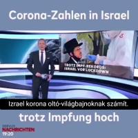 Izrael – SEMMIT nem érnek az oltások