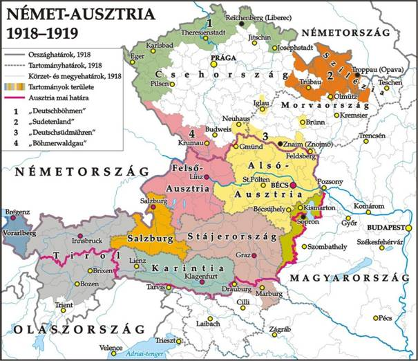 16 német ausztria 1919